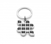 Corporate Logo Keyring